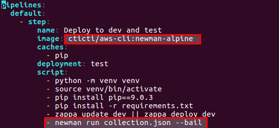 CI/CD API testing using postman and bitbucket pipeline – Knowledge Base